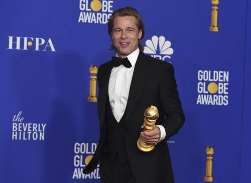 Brad Pitt e Jennifer Aniston ai Golden Globes 2020: foto 10