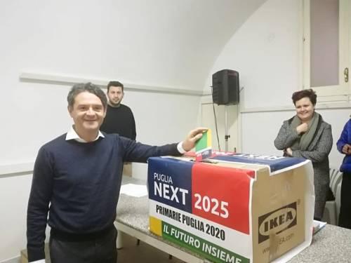 Primarie in Puglia: i quattro candidati nei seggi per votare 2