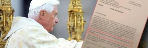 """""""Quel testo non è di Ratzinger"""". Ma un documento smonta i progressisti"""