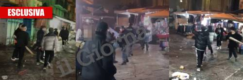 """Napoli choc, 'baby gang' caccia la polizia: """"Un solo grido, sbirri in fiamme"""""""