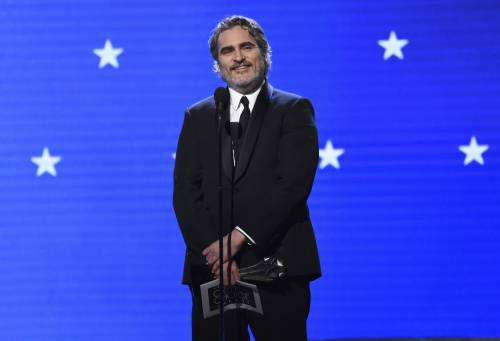 Joaquin Phoenix, le immagini delle premiazioni 5