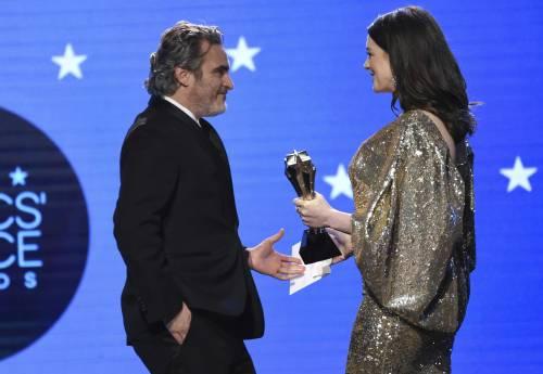 Joaquin Phoenix, le immagini delle premiazioni 4