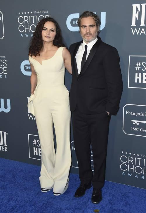 Joaquin Phoenix, le immagini delle premiazioni 1