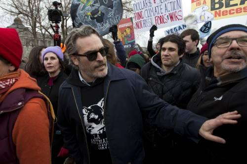 Joaquin Phoenix, le immagini delle premiazioni 2