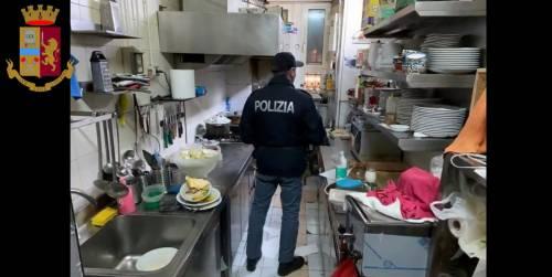 Sporcizia e pessime condizioni igieniche: chiuso ristorante etnico