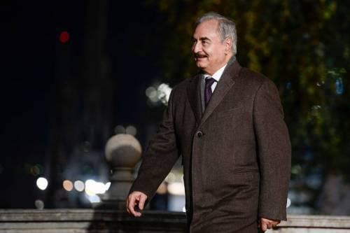 Libia, Haftar non ha firmato la tregua a Berlino