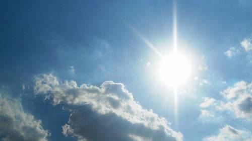 L'anticiclone del week-end, sole da nord a sud