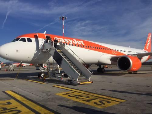 Malpensa, easyJet vola con l'A321 neo: più posti a bordo, consumi e rumore ridotti