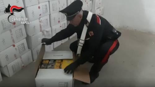 Maxi sequestro a Piazzolla di Nola: scoperte 2 tonnellate di tabacco di contrabbando