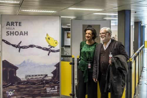 """""""Arte e Shoah"""", una mostra per non dimenticare a Linate e a Malpensa"""