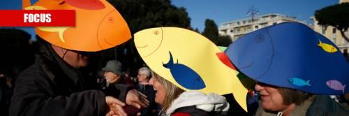Le sardine si giocano tutto col voto in Emilia Romagna