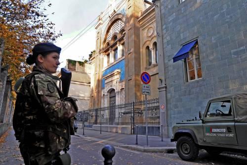 I luoghi di culto ebraici come l'Afghanistan: oltre 700 militari per difendere i siti a rischio