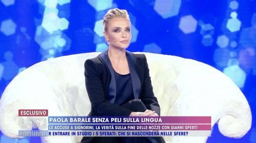 """Paola Barale: """"Raz Degan e Gianni Sperti sono nel dimenticatoio"""""""