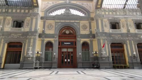 La desolazione della Galleria Principe di Napoli 3