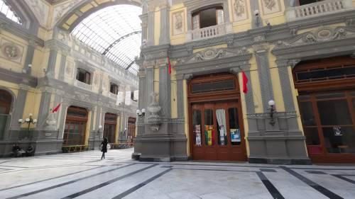 La desolazione della Galleria Principe di Napoli 5