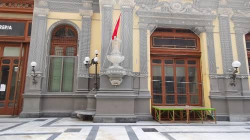 La desolazione della Galleria Principe di Napoli 7