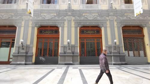 La desolazione della Galleria Principe di Napoli 2