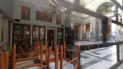 La desolazione della Galleria Principe di Napoli 1