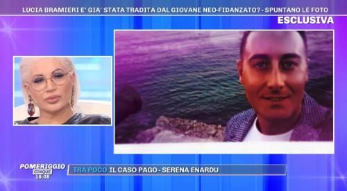 """Lucia Bramieri liquida il neo fidanzato: """"Siamo già alla frutta"""""""