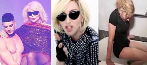 """Amanda Lear e l'affondo su Madonna: """"Dispiace che sia ridotta così"""""""