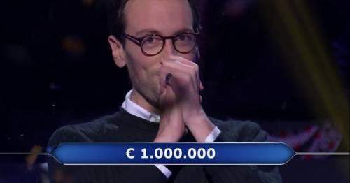 """Chi vuol essere milionario? ha un nuovo campione: """"Ora forse tornerò in Europa"""""""