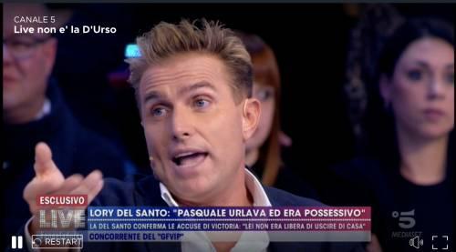 """""""Live non è la d'Urso"""": Platinette contro Salvo Veneziano"""