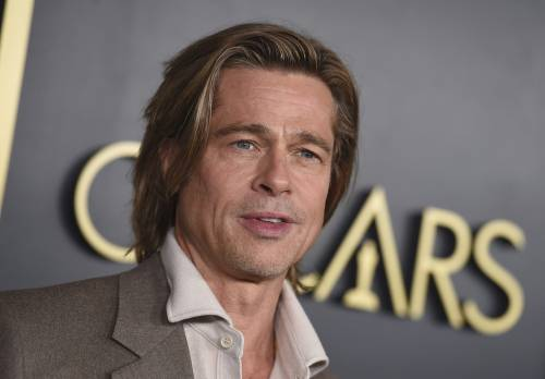Brad Pitt scherza sulla Megxit durante i Bafta