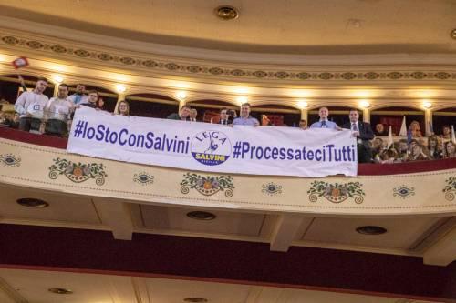 La kermesse della Lega a Palermo: Salvini accolto dai simpatizzanti 5