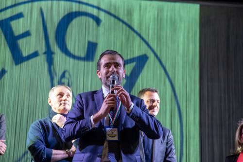 La kermesse della Lega a Palermo: Salvini accolto dai simpatizzanti 6