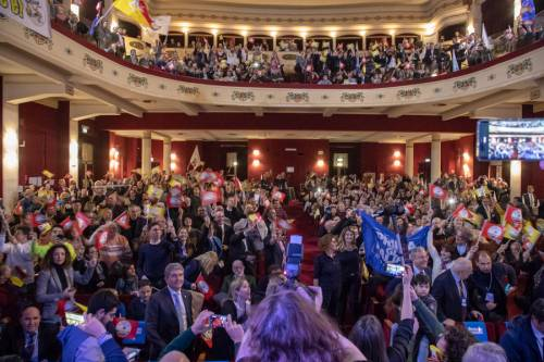 La kermesse della Lega a Palermo: Salvini accolto dai simpatizzanti 8