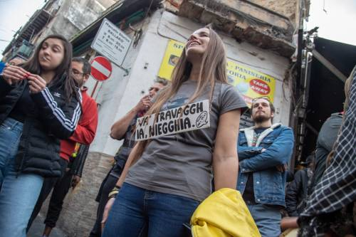 La kermesse della Lega a Palermo: Salvini accolto dai simpatizzanti 2