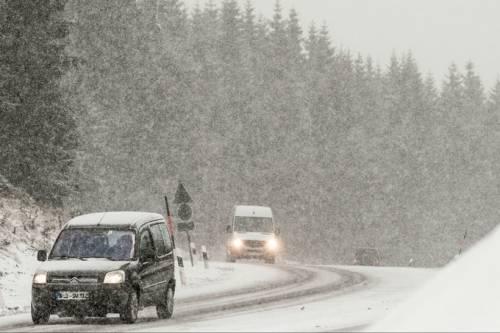 In arrivo un ciclone invernale, neve al Nord e nubifragi al Sud