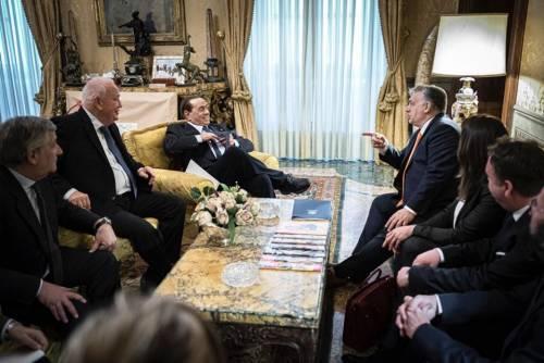 """Berlusconi in campo per Orban: """"Fidesz dia segnali positivi"""""""