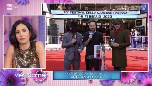 """Sanremo, Morgan fuori controllo in diretta: """"Le violenterei tutte"""""""