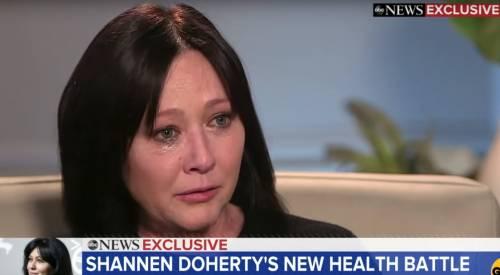 """Shannen Doherty: """"Il cancro è tornato, è un boccone amaro da digerire"""""""
