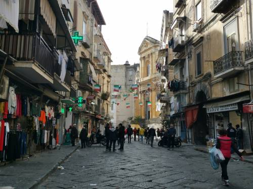 Napoli, il Buvero senza lo storico mercatino 2