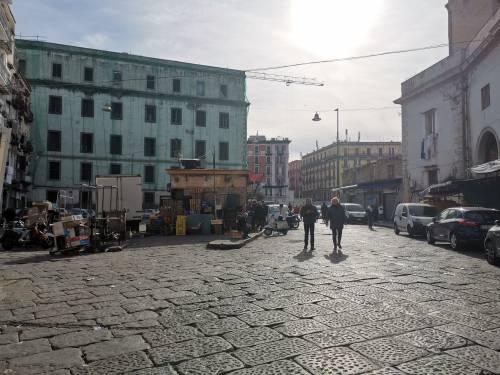 Napoli, il Buvero senza lo storico mercatino 3