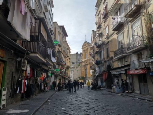 Napoli, il Buvero senza lo storico mercatino 4