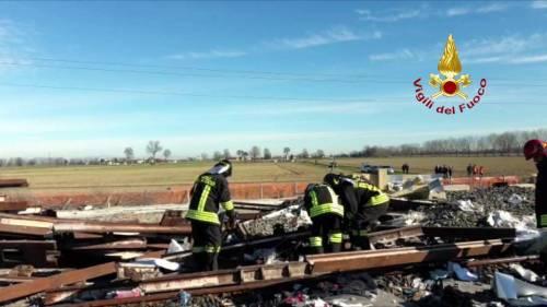 Deragliamento treno, gli operai della manutenzione lavoravano su un'anomalia