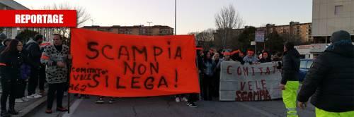 """A Scampia le mobilitazioni anti leghista: """"Al Sud non deve presentarsi"""""""