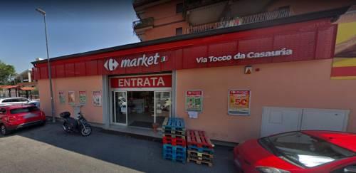 Armato di coltello rapina supermercato ma viene localizzato grazie a cellulare