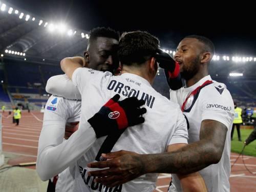 La Roma perde ancora: il Bologna vince 3-2 e si prende il sesto posto