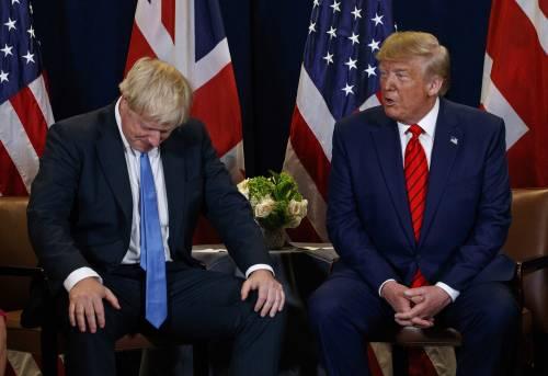 """Trump e Johnson ai ferri corti: gli Stati Uniti """"sfidano"""" Londra"""