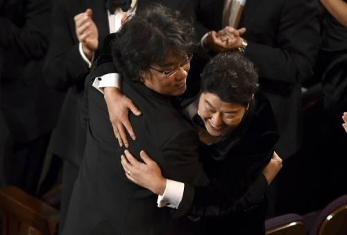 In momenti più emozionanti della notte degli Oscar