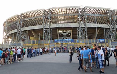 Napoli-Lecce, fermati e sanzionati allo stadio 30 parcheggiatori abusivi