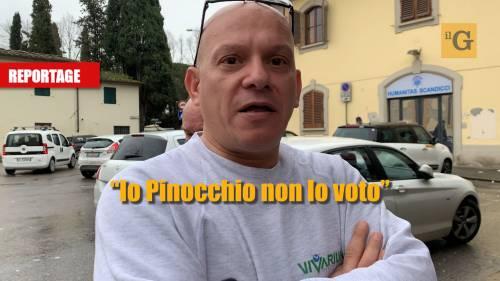 """I fiorentini scaricano Matteo Renzi: """"Io Pinocchio non lo voto"""""""