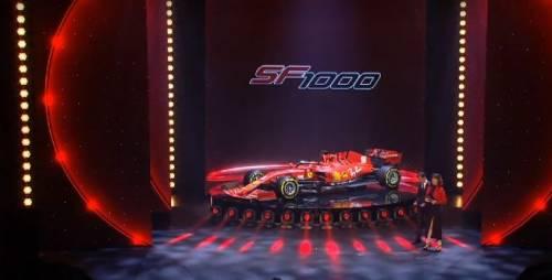 Gli scatti della nuova Ferrari SF1000 7