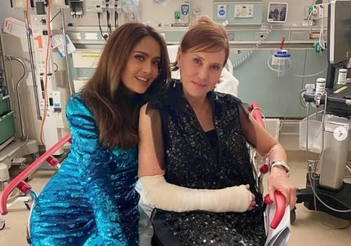 Salma Hayek finisce in ospedale e si perde la festa degli Oscar