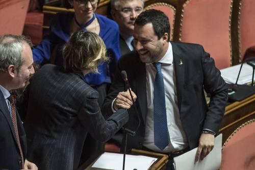 Caso Gregoretti, Salvini parla al Senato 7