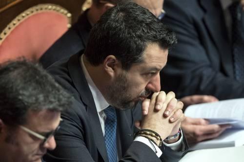 Caso Gregoretti, Salvini parla al Senato 4